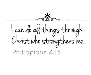 Christ and philippians 4:13 image