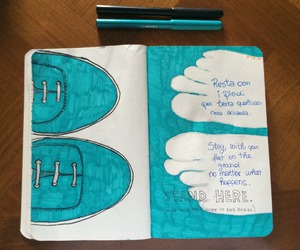 light blue and wreck this journal image