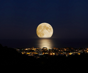 amazing, moonlight, and scenery image