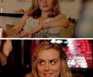 funny, lol, and taylor schilling image