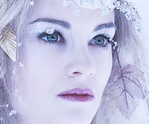 ice, winter, and ice queen image