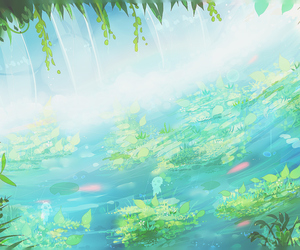 scenery, anime, and art image