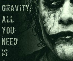 joker, quotes, and madness image