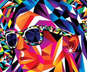 never hide, colors, and ray ban image