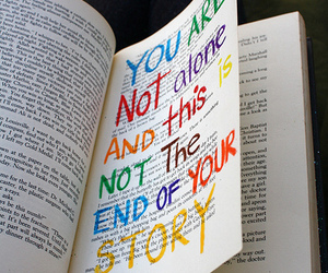 book, story, and quotes image