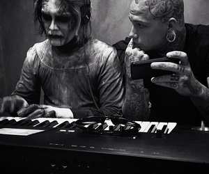 band, motionless in white, and josh balz image