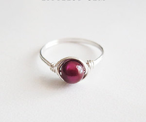 accessories, burgundy, and fashion image