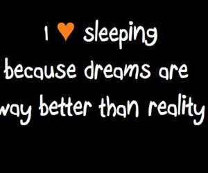 dreams, reality, and sleeping image