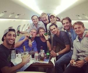 drink, nico rosberg, and team image