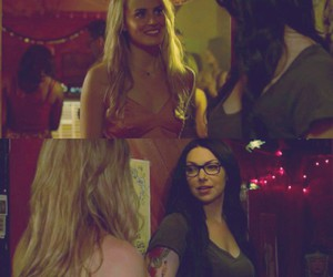 laura prepon, alex vause, and taylor schilling image