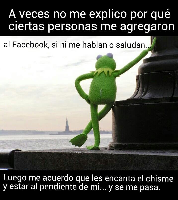 Para Los Chismosos De Mi Facebook On We Heart It