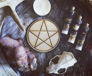 witch, witchcraft, and wiccan image