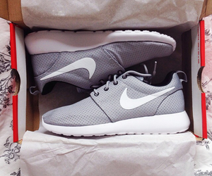 nike, grey, and fashion image