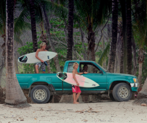 photography, surfboard, and surfer image