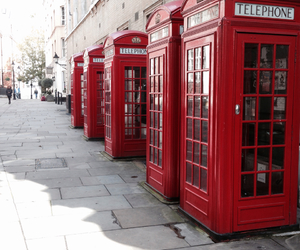 londen, england, and telephonecells image