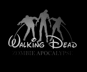 zombie, disney, and the walking dead image