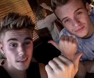justin bieber, ryan butler, and boy image