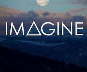 imagine, moon, and sky image