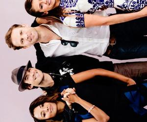 Nina Dobrev, paul wesley, and kat graham image