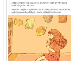 books, hermione, and harry potter image