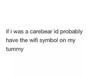 wifi, carebear, and tumblr image