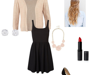 bags, cardigan, and classy image