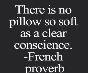 quote, conscience, and proverb image