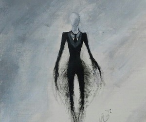 slender man and creepypasta image