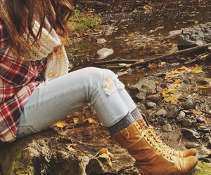 autumn, comfy, and fall image