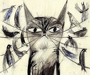 art and cats image