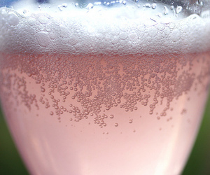 bubbles, champagne, and drink image