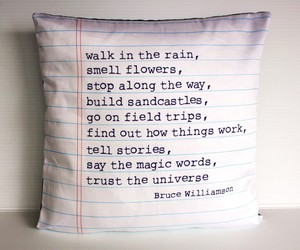 pillow, quote, and text image