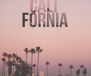 california, paradise, and summer image