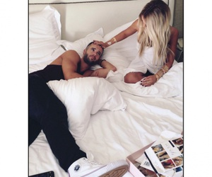 sexy couple, fashion style, and sweet love image