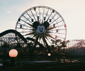 grunge, vintage, and disney land image