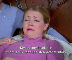 anxiety and sabrina the teenage witch image
