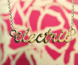 accesories, electric, and necklace image