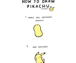 pikachu, kawaii, and pokemon image