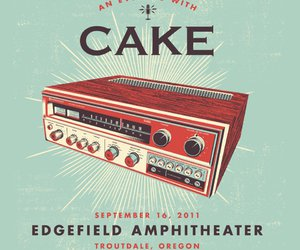 amp, cake, and music image