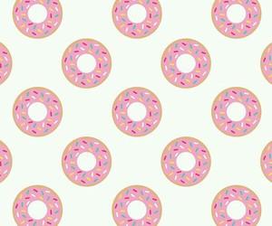 background, comida, and donut image