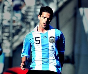 argentina, football, and gago image