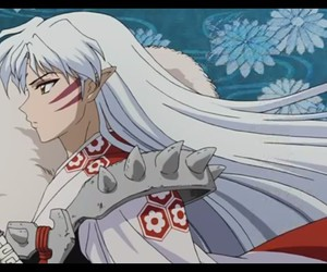 anime, inuyasha, and sesshomaru image