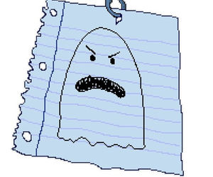 ghost, Paper, and spongebob image