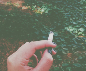 black, cigarette, and fresh image