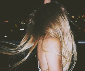 girl, hair, and party image