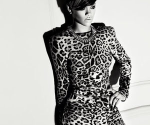 rihanna, sexy, and leopard image