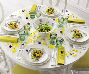 easter decorations, table decorating ideas, and easter decor image