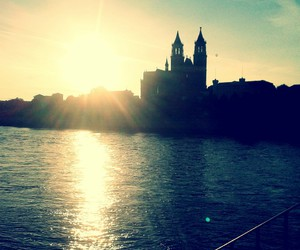 dom, Elbe, and magdeburg image