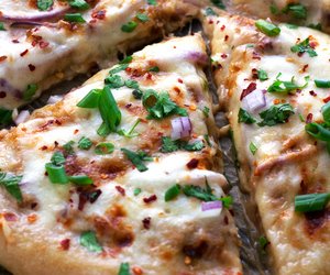 Chicken, pizza, and korean image