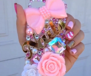 bow, case, and girly image